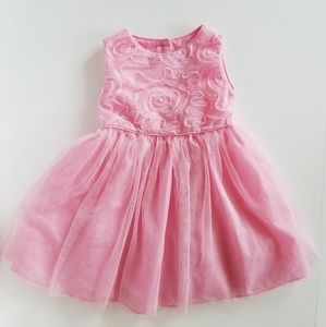 George Girls Pink Tulle Formal Dress 3T
